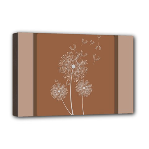 Dandelion Frame Card Template For Scrapbooking Deluxe Canvas 18  x 12