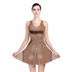 Dandelion Frame Card Template For Scrapbooking Reversible Skater Dress
