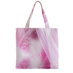 Realm Of Dreams Light Effect Abstract Background Zipper Grocery Tote Bag