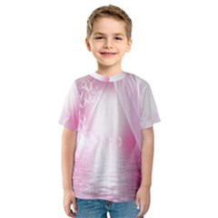 Realm Of Dreams Light Effect Abstract Background Kids  Sport Mesh Tee