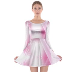 Realm Of Dreams Light Effect Abstract Background Long Sleeve Skater Dress