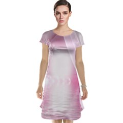 Realm Of Dreams Light Effect Abstract Background Cap Sleeve Nightdress