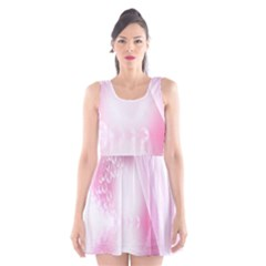 Realm Of Dreams Light Effect Abstract Background Scoop Neck Skater Dress