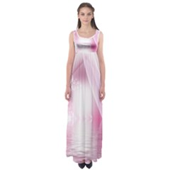 Realm Of Dreams Light Effect Abstract Background Empire Waist Maxi Dress