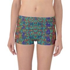 Sea Of Mermaids Boyleg Bikini Bottoms