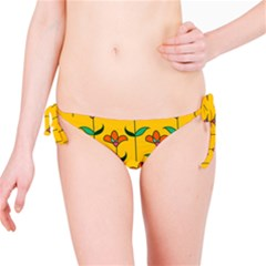 Small Flowers Pattern Floral Seamless Vector Bikini Bottom
