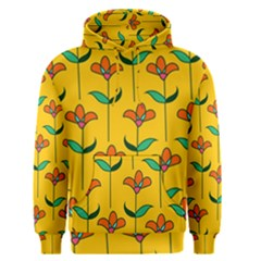 Small Flowers Pattern Floral Seamless Vector Men s Pullover Hoodie