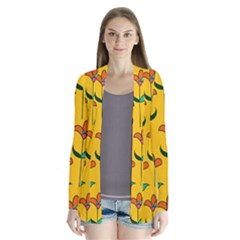 Small Flowers Pattern Floral Seamless Vector Cardigans