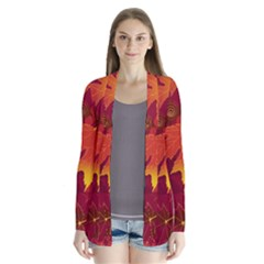 Autumn Leaves Fall Maple Cardigans