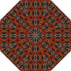 Seamless Pattern Digitally Created Tilable Abstract Hook Handle Umbrellas (Small)