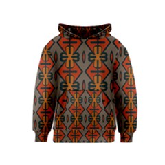 Seamless Pattern Digitally Created Tilable Abstract Kids  Pullover Hoodie
