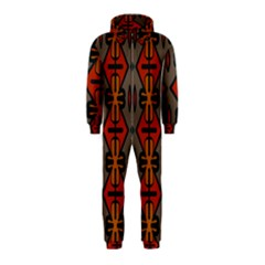 Seamless Pattern Digitally Created Tilable Abstract Hooded Jumpsuit (Kids)