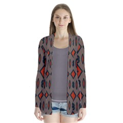 Seamless Pattern Digitally Created Tilable Abstract Cardigans