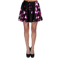 Background Structure Magenta Brown Skater Skirt