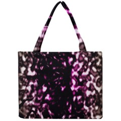 Background Structure Magenta Brown Mini Tote Bag