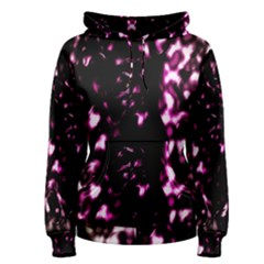 Background Structure Magenta Brown Women s Pullover Hoodie