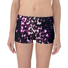Background Structure Magenta Brown Boyleg Bikini Bottoms