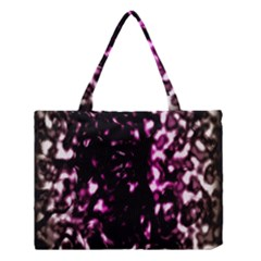 Background Structure Magenta Brown Medium Tote Bag