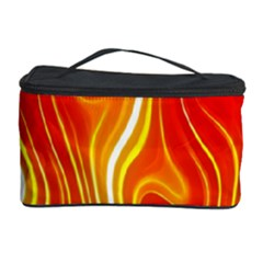 Fire Flames Abstract Background Cosmetic Storage Case