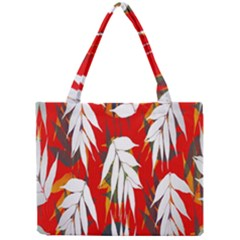 Leaves Pattern Background Pattern Mini Tote Bag