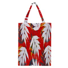 Leaves Pattern Background Pattern Classic Tote Bag
