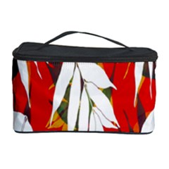 Leaves Pattern Background Pattern Cosmetic Storage Case