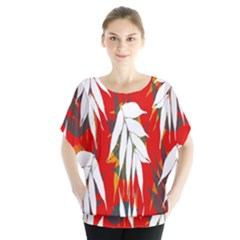 Leaves Pattern Background Pattern Blouse