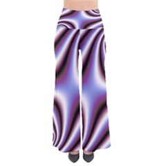Fractal Background With Curves Created From Checkboard Pants