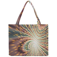 Vortex Glow Abstract Background Mini Tote Bag