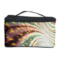 Vortex Glow Abstract Background Cosmetic Storage Case