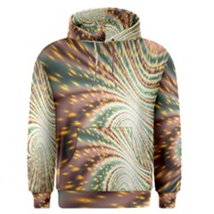 Vortex Glow Abstract Background Men s Pullover Hoodie