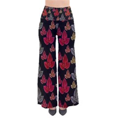 Leaves Pattern Background Pants