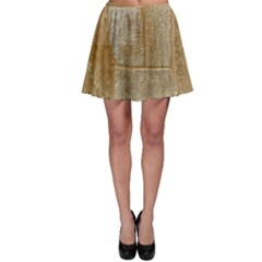 Texture Of Ceramic Tile Skater Skirt