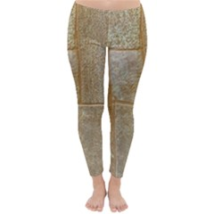 Texture Of Ceramic Tile Classic Winter Leggings