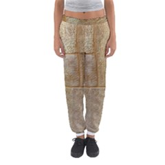 Texture Of Ceramic Tile Women s Jogger Sweatpants