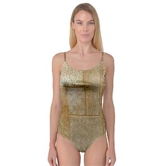 Texture Of Ceramic Tile Camisole Leotard
