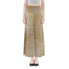 Texture Of Ceramic Tile Maxi Skirts