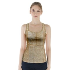 Texture Of Ceramic Tile Racer Back Sports Top