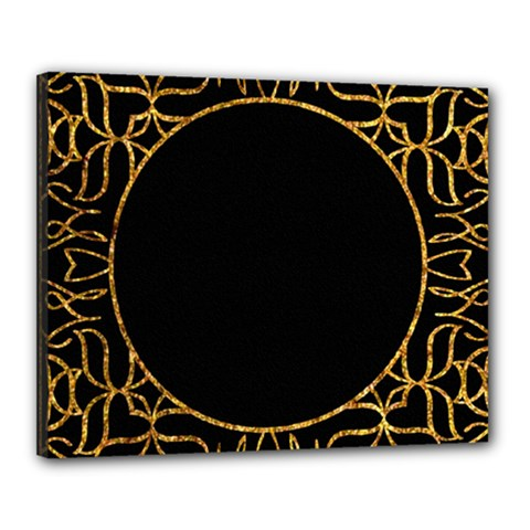 Abstract  Frame Pattern Card Canvas 20  X 16