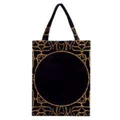 Abstract  Frame Pattern Card Classic Tote Bag