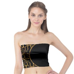 Abstract  Frame Pattern Card Tube Top