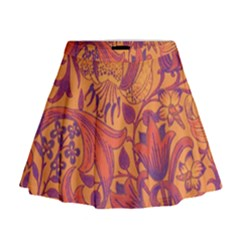 Floral pattern Mini Flare Skirt