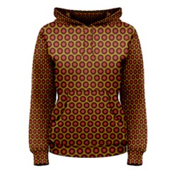 Lunares Pattern Circle Abstract Pattern Background Women s Pullover Hoodie