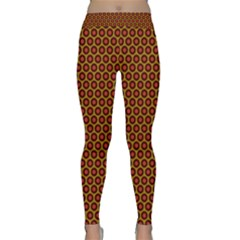 Lunares Pattern Circle Abstract Pattern Background Classic Yoga Leggings
