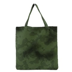 Vintage Camouflage Military Swatch Old Army Background Grocery Tote Bag
