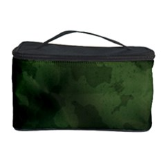 Vintage Camouflage Military Swatch Old Army Background Cosmetic Storage Case