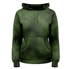 Vintage Camouflage Military Swatch Old Army Background Women s Pullover Hoodie