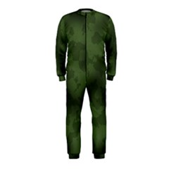 Vintage Camouflage Military Swatch Old Army Background Onepiece Jumpsuit (kids)