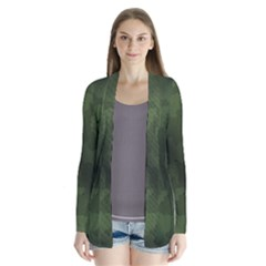 Vintage Camouflage Military Swatch Old Army Background Cardigans