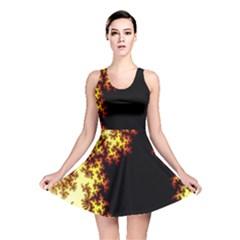 A Fractal Image Reversible Skater Dress